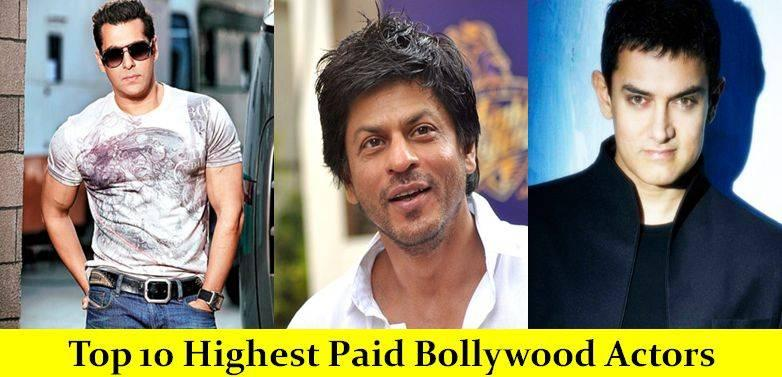 Top 10 Highest Paid Bollywood Actors of 2020 (Male) - Top 10 Highest Paid Bollywood Actors