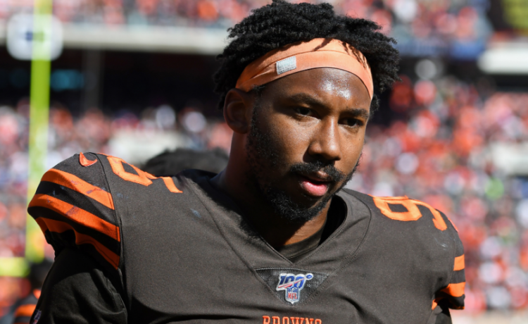 Myles Garrett Biography, Net Worth,  NFL, Current Team, Injury, Dating, Height, Parents, Age, Facts, Wiki - 1574456775 Myles Garrett Biography