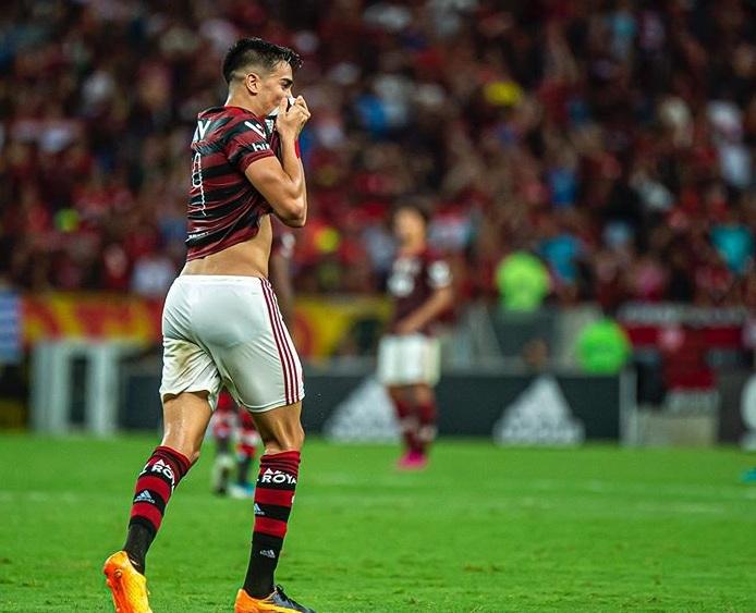 "Reinier TEams ""data-caption ="" Reinier in action for Flamengo. ""Data-source ="" Instagram@reinier.jesus"