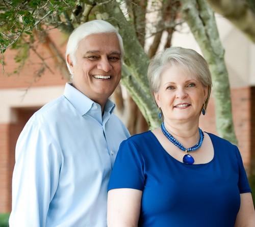 Ravi Zacharias and his wife Margarita Reynolds