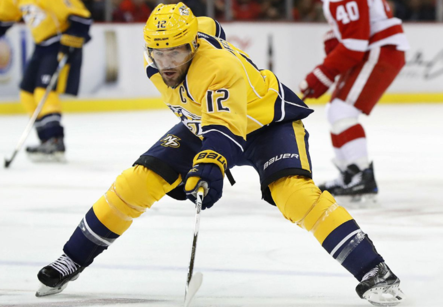 Mike Fisher, a former ice hockey player