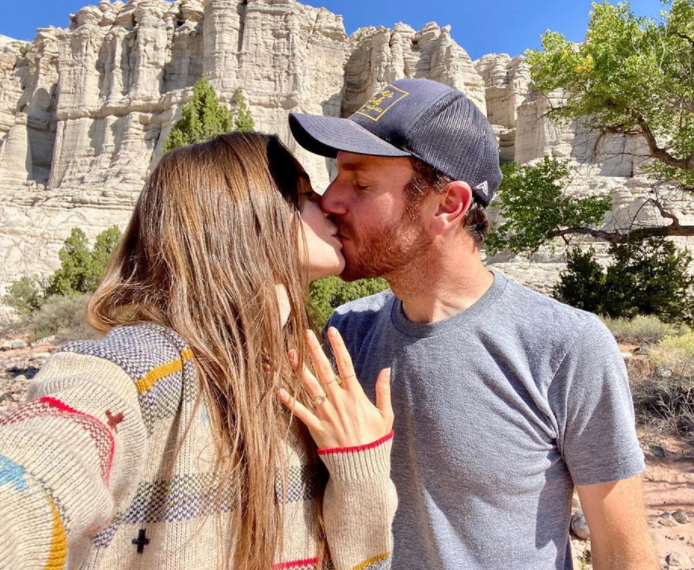 Lily Collins becomes engaged to director Charlie McDowell