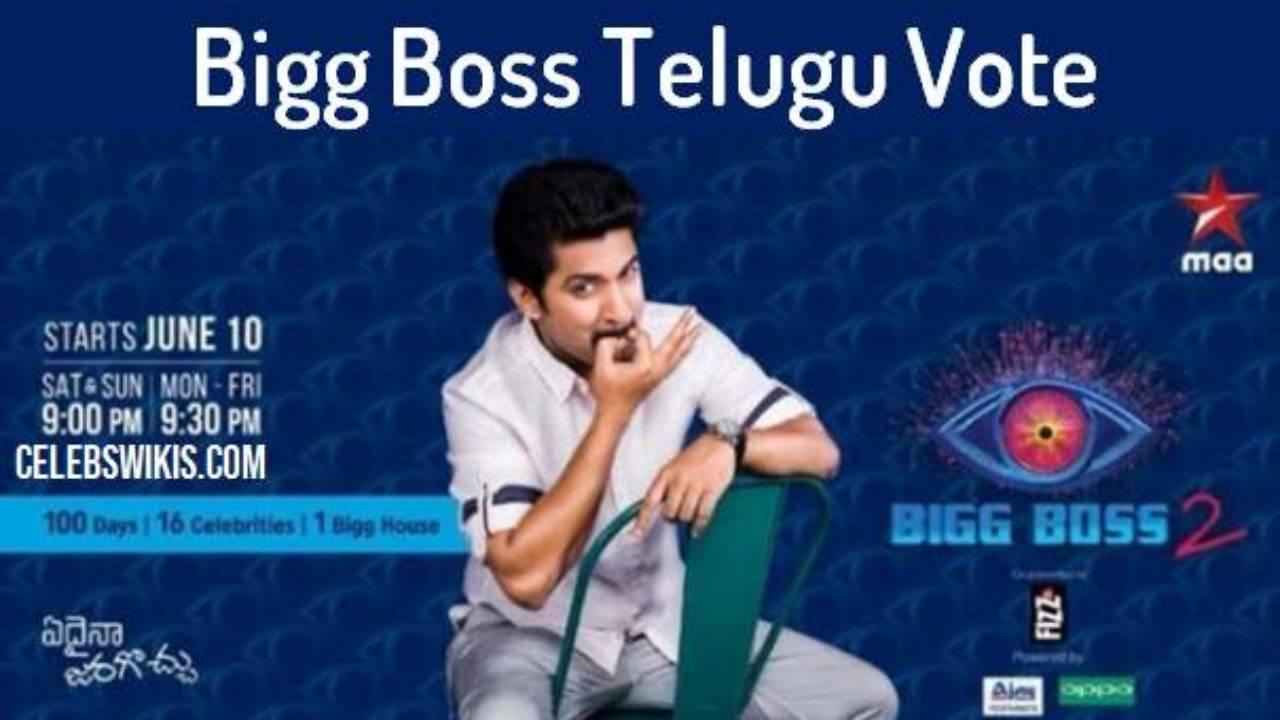 Bigg Boss Telugu Vote (Online Voting Polls) Season 2, Eviction Details - Bigg Boss Telugu Vote