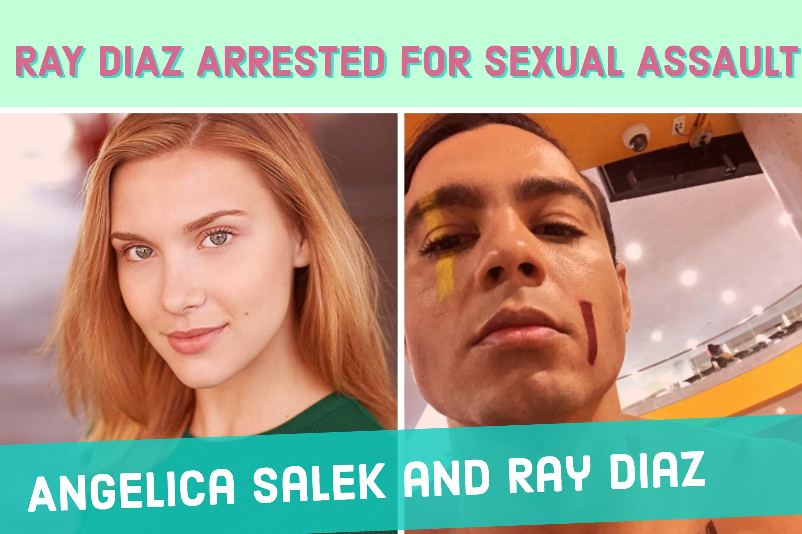 Ray Díaz and Angelica Salek