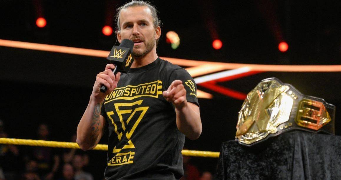 Adam Cole Wrestler