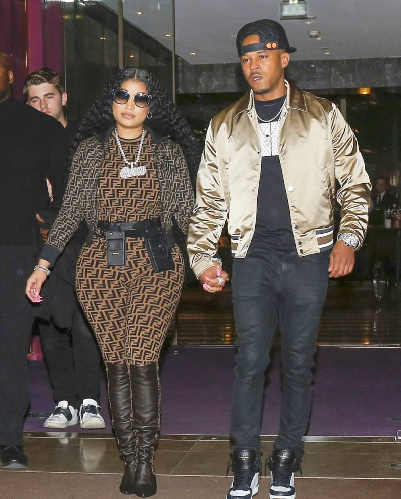 "Kenneth Petty Weddign ""data-caption ="" Nicki Minaj and her boyfriend Kenneth Petty ""data-source ="" @ hollywoodlife.com"