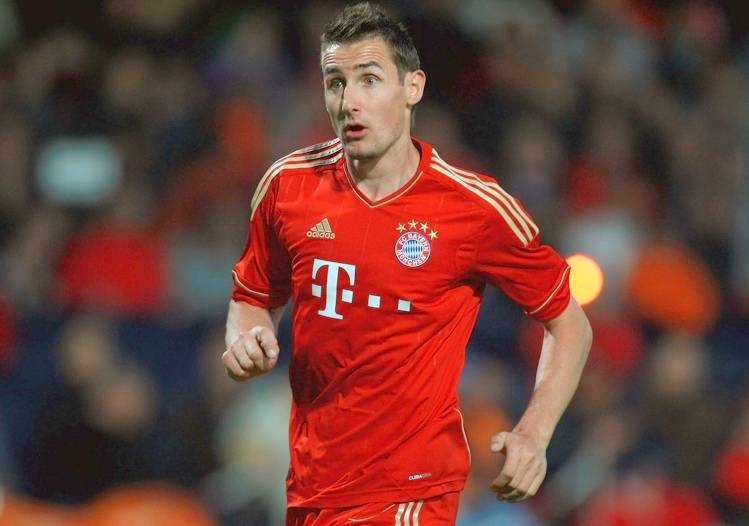 Miroslav Klose Bayern Munich