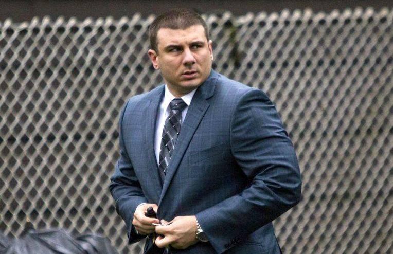 "Daniel Pantaleo Trial ""data-caption ="" Daniel Pantaleo ""data source ="" @ nydailynews.com"