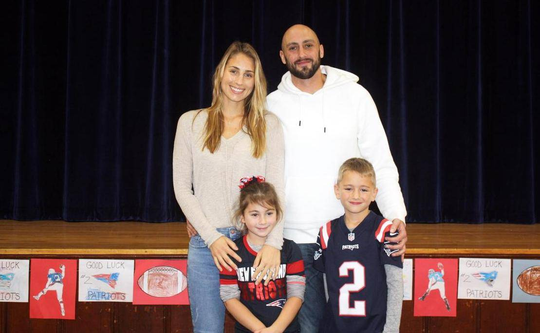 Brian Hoyer family