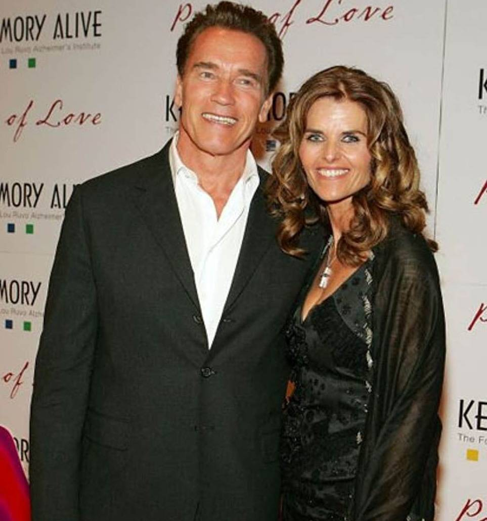 Maria shriver husband