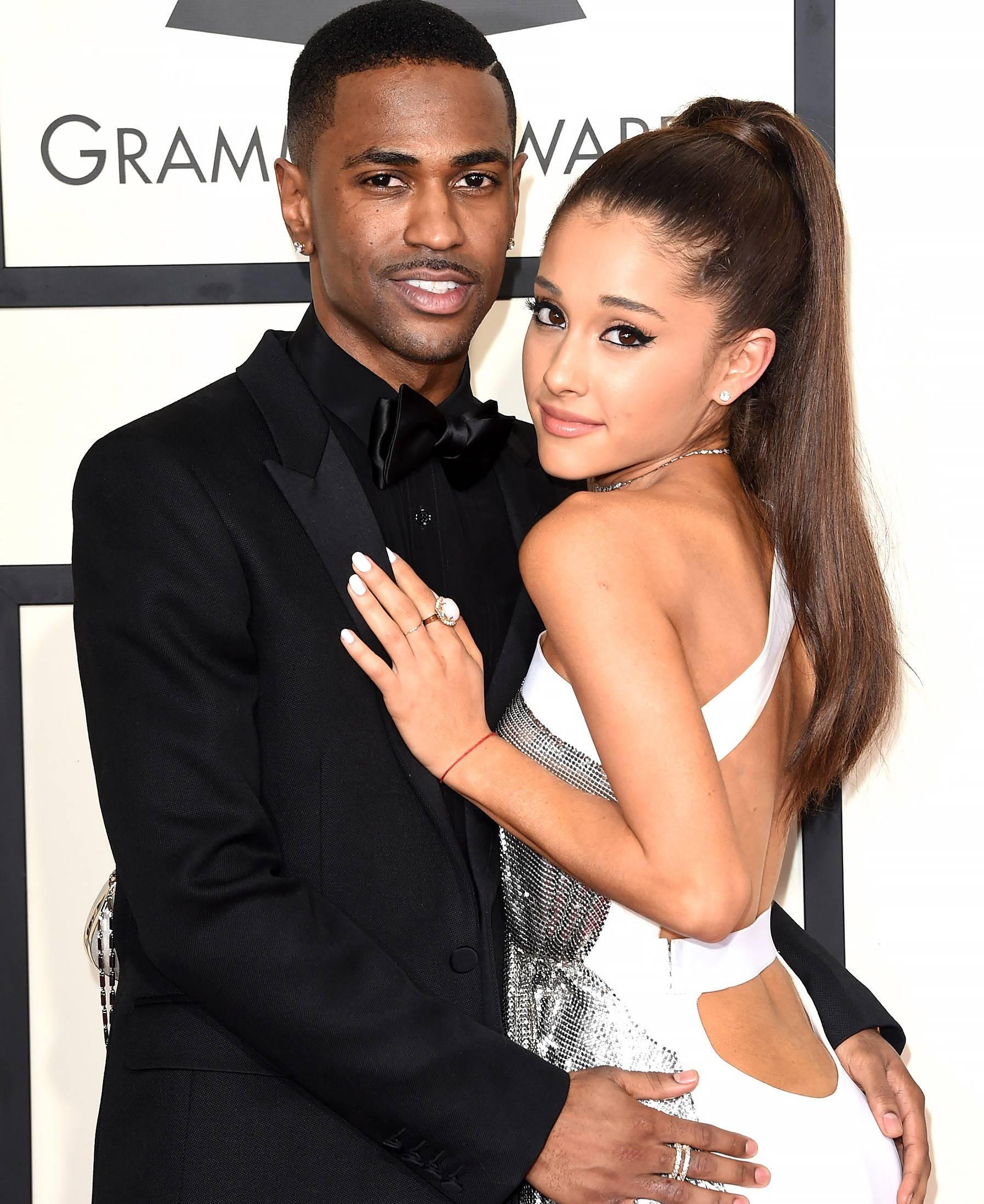 "Ariana Grande Big Sean ""data-caption ="" Ariana Grande and Big Sean "". Data-source ="" @ people.com"