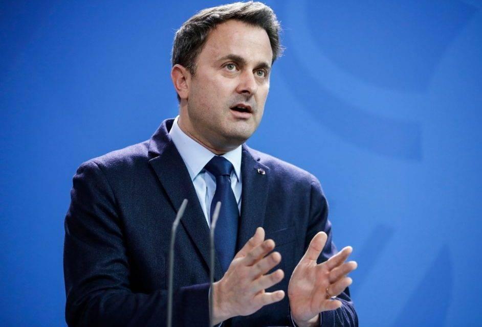 Xavier Bettel Prime Minister
