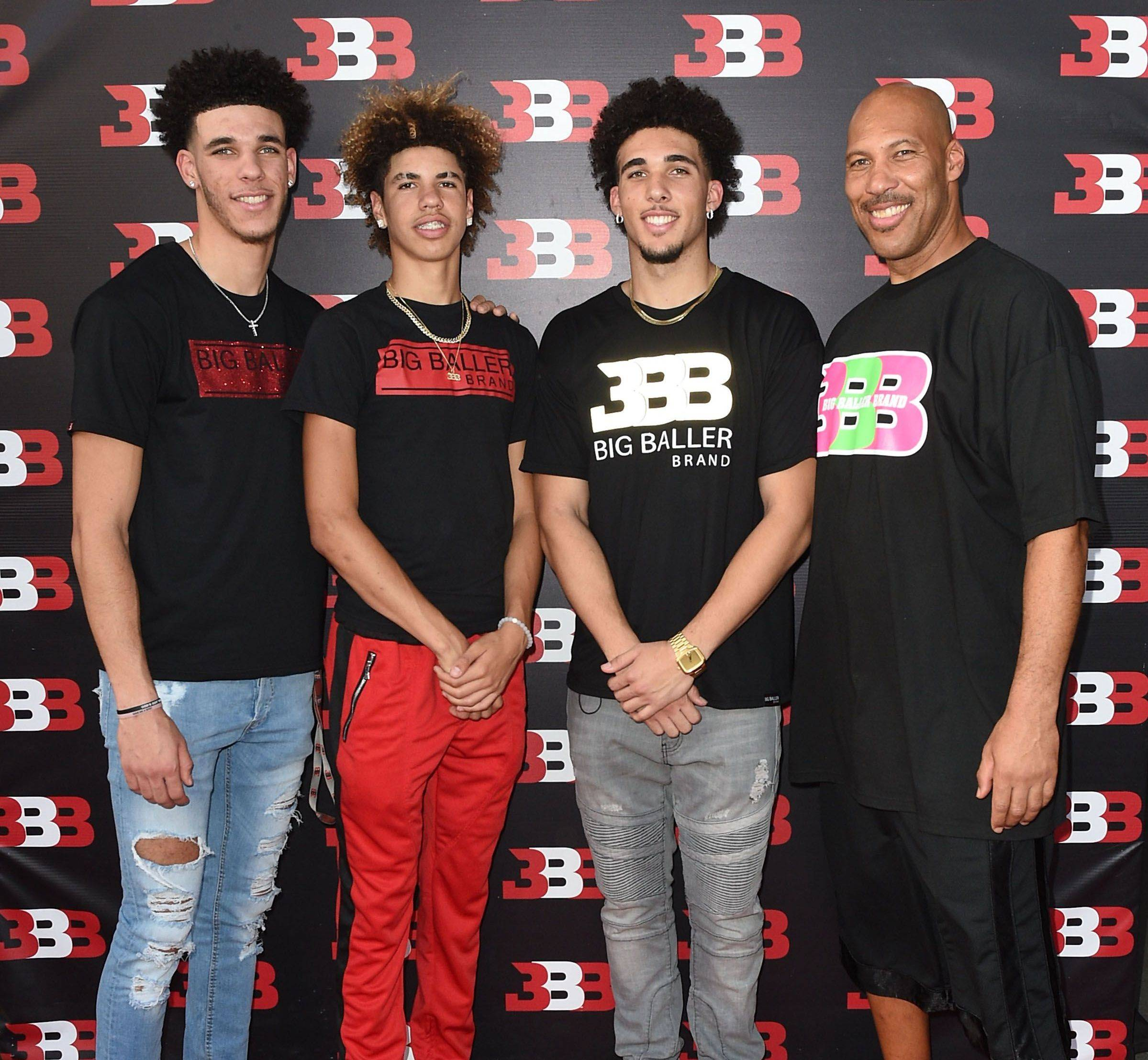 LaVar Ball Children
