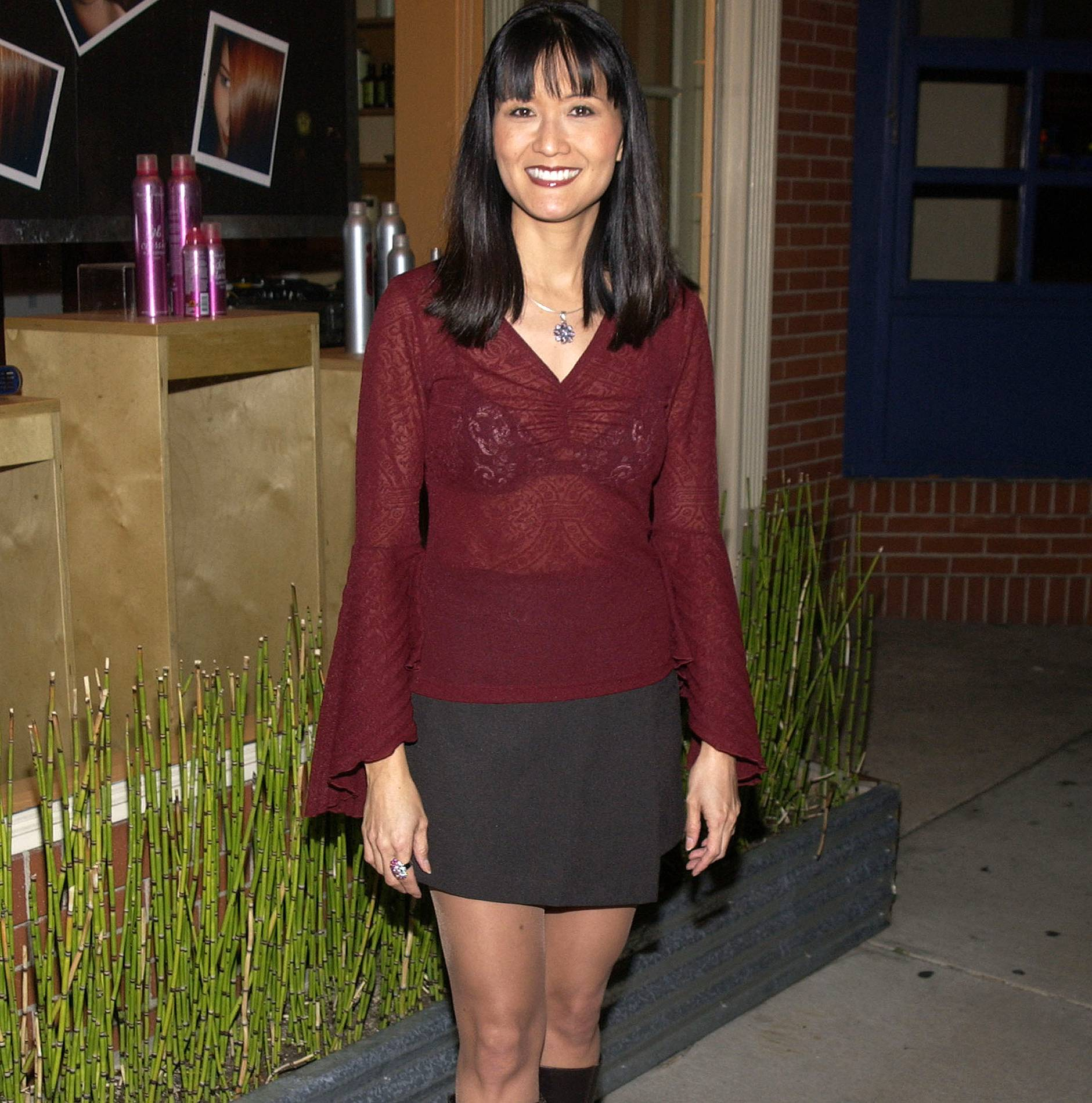 "Suzanne Whang Early Life ""data-caption ="" Former House Hunter hostess, Suzanne Whang. ""Data-source ="" @ people.com"