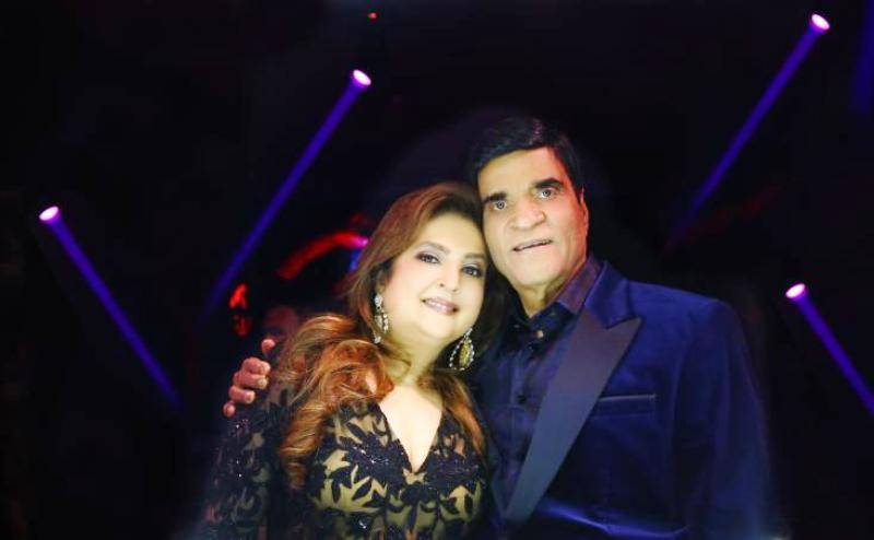 Suresh Nanda with his wife