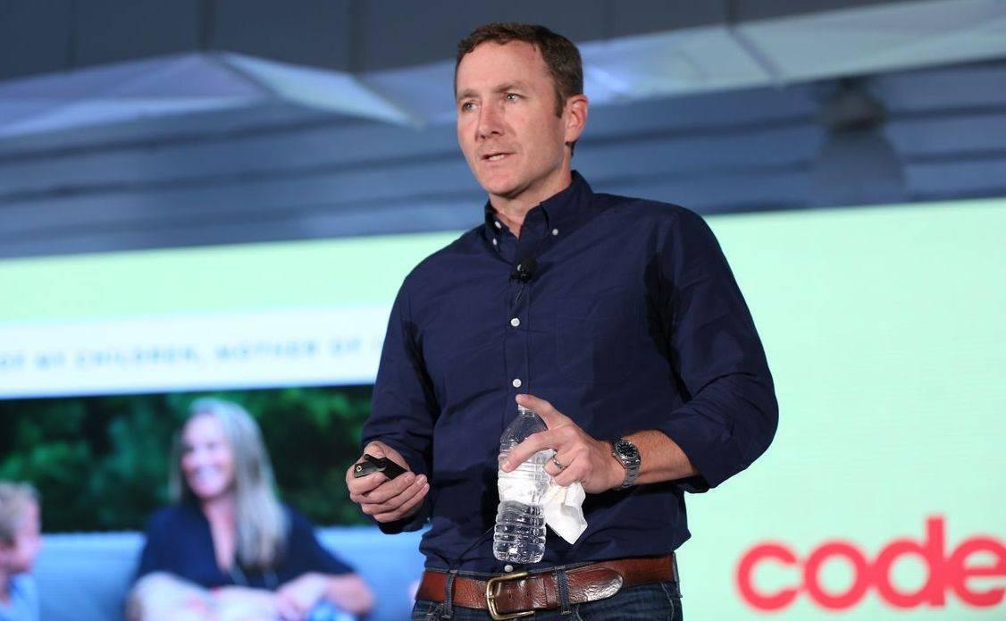 """John Foley Peloton """"data-caption ="""" Peloton CEO JOhn Foley. """"Data-source ="""" @ vox.com"""