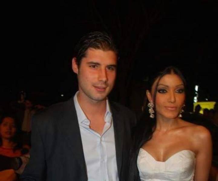 Koena Mitra with Mette Merral