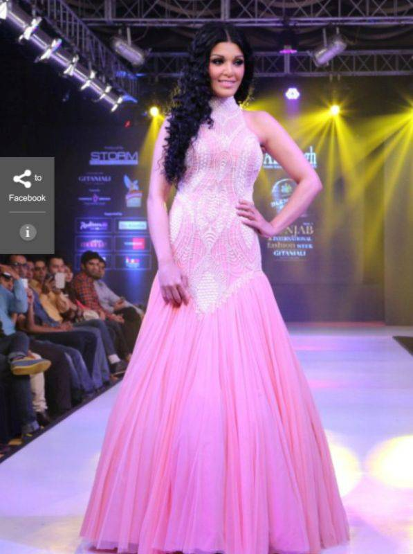 Koena Mitra during a ramp
