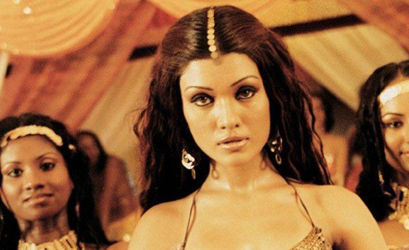 Koena Mitra in a scene of Musafir