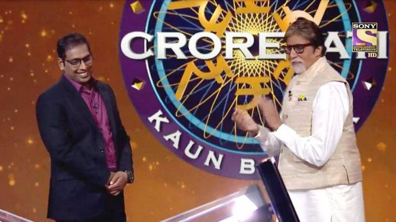 Asheesh Singh at KBC