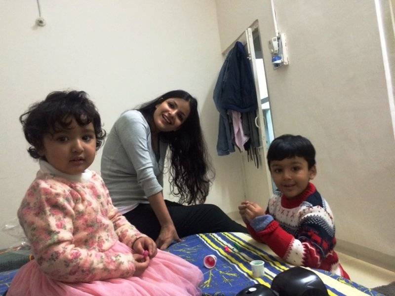 The family of Asheesh Singh