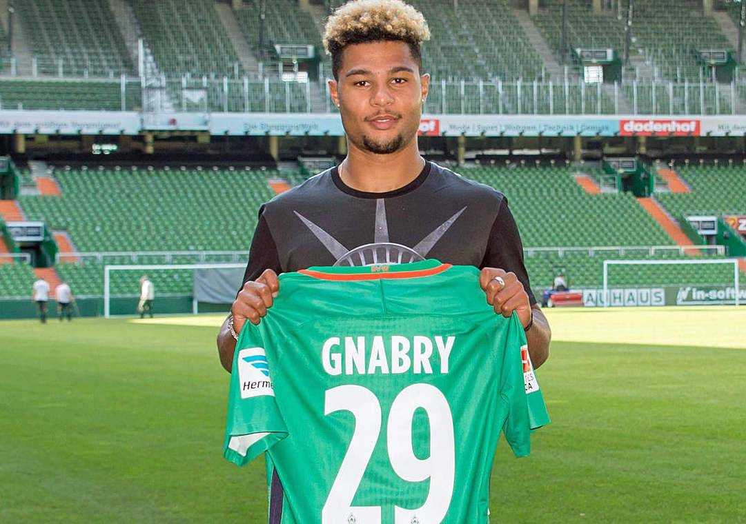 Serge Gnabry Werder Bremen