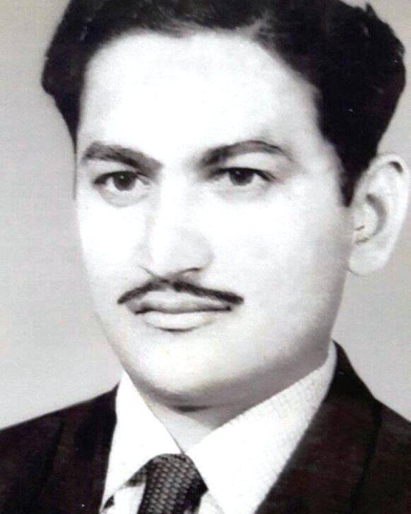 Hrishikesh Pandey's father