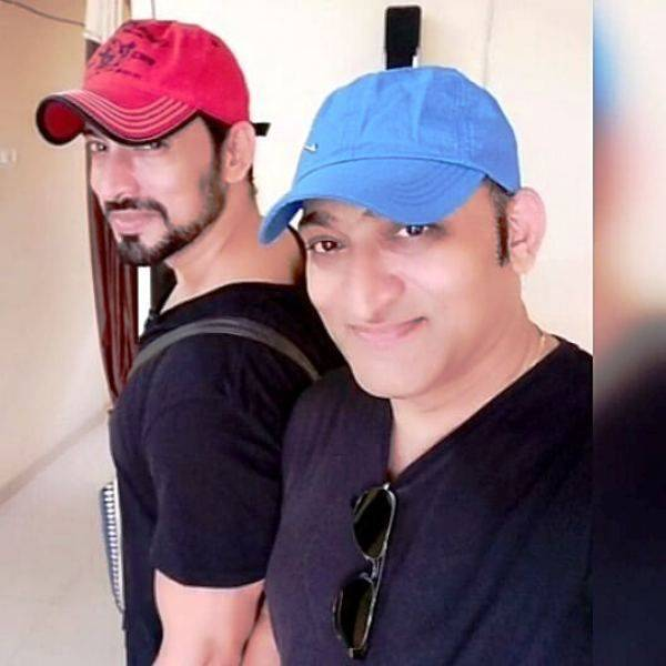 Hrishikesh Pandey with his older brother