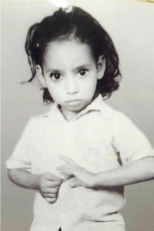 Childhood Photo of Hrishikesh Pandey