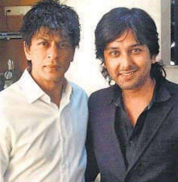 Siddharth Dey with Shah Rukh Khan