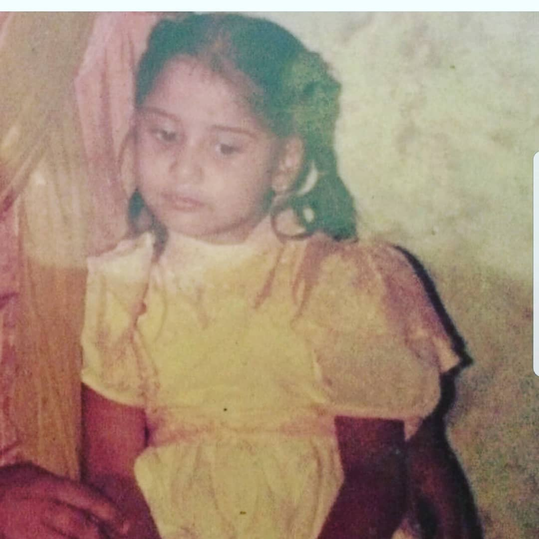 Photo of Arti Singh's childhood