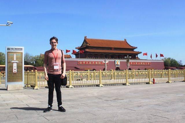 Cometan on tour in China