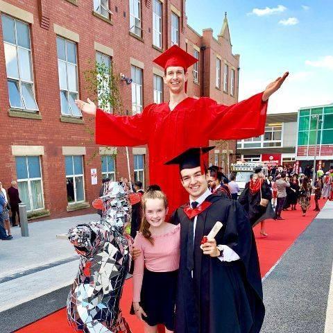 Cometan after graduating