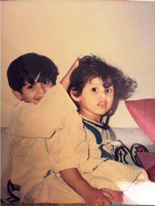 Photo of Akbar Rasheed's childhood