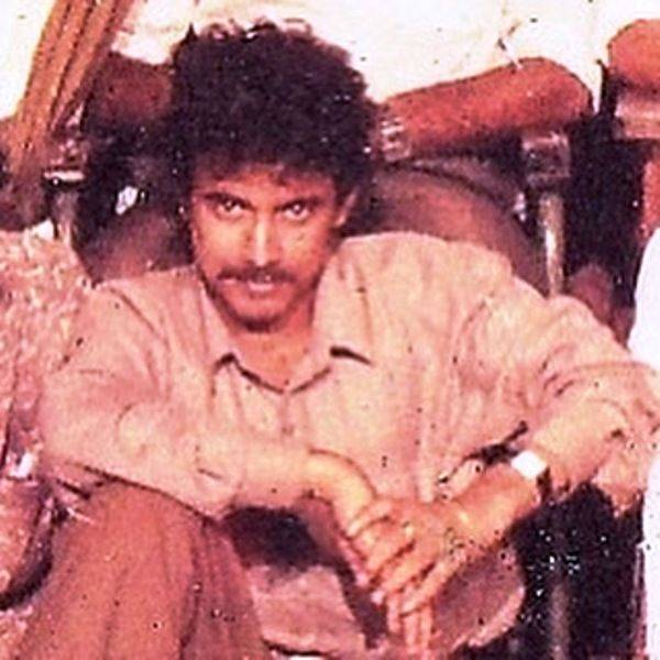 An old image of Rajesh Touchriver