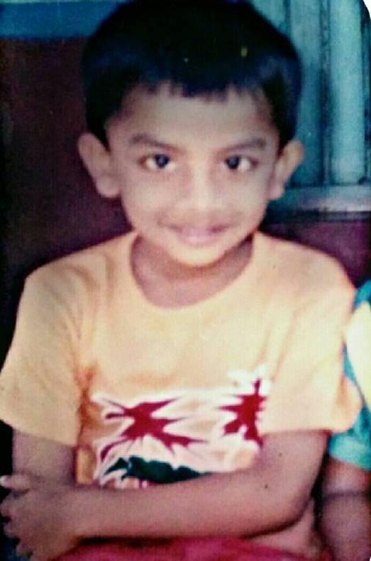 Chandan Shetty's childhood photo