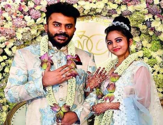 Chandan Shetty Engagement Photo