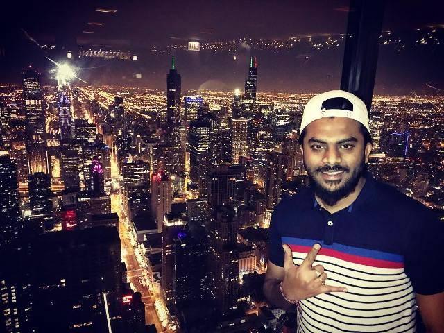 Chandan Shetty in Chicago