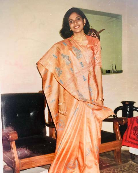 Richa Anirudh in his college days