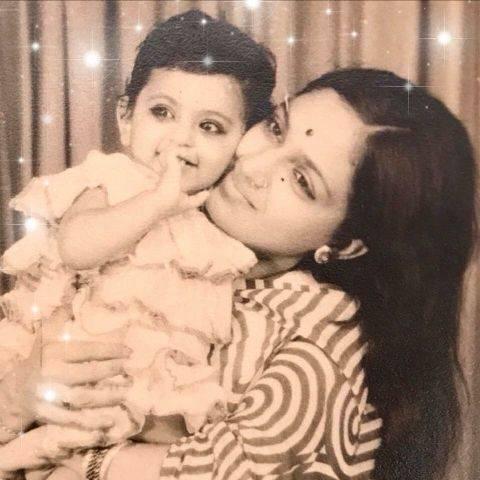 Photo of Richa Anirudh's childhood