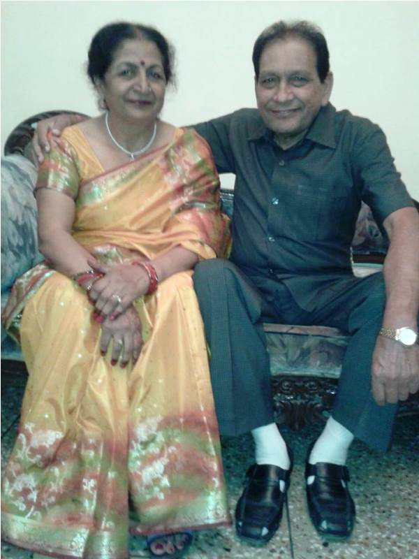 Parag Tyagi's parents