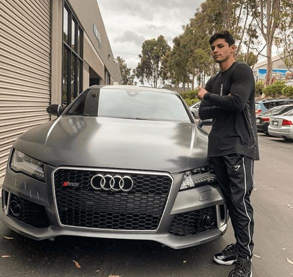 Ryan Garcia Car