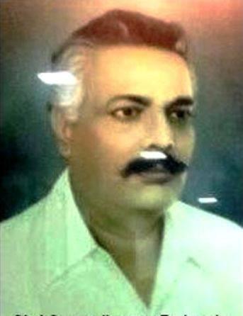 Devendra Fadnavis's father, Gangadharrao Fadnavis