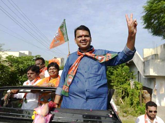 Devendra Fadnavis after being appointed mayor of Nagpur