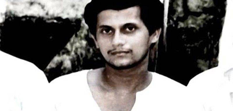 An old photo of Achyuta Samanta