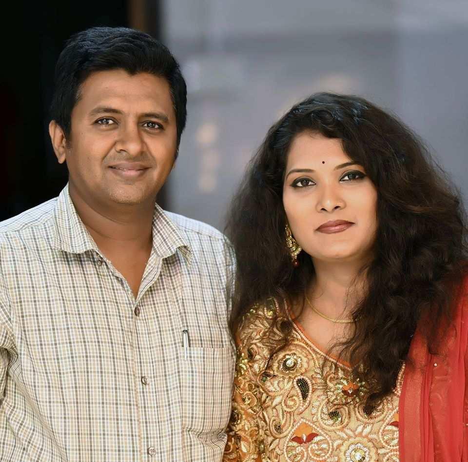 Geeta Mali with her husband - Vijay Mali