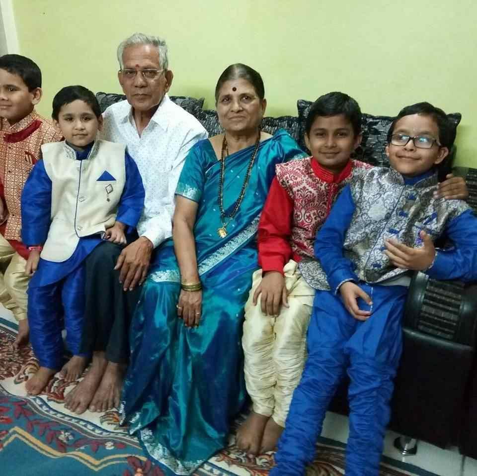 The parents of Geeta Mali