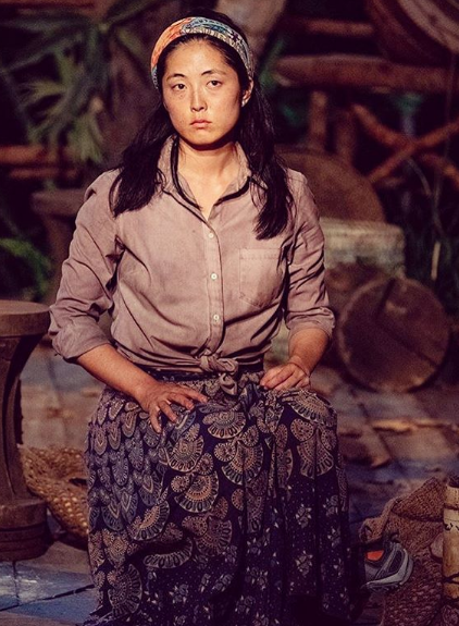 "Kellee Kim Survivor ""data-caption ="" Will I survive tomorrow? Tune in to find out! Yay for #merge but boo for #tribalcouncil every time #survivor #cometokellee #teamkellee # dontsleepon39 #maxiskirt #thanks #etsy Thanks @ hashtag.reality for the photo! ""Data-source ="" https://www.instagram.com/p/B4xzJA8gLMU/"