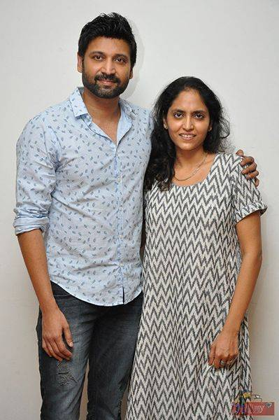 Supriya Yarlagadda with her brother