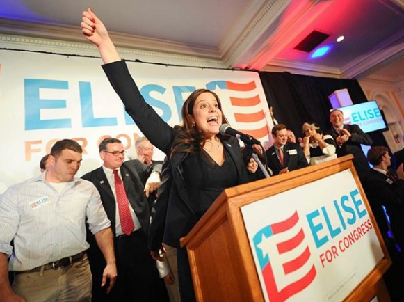 "Elise Stefanik U.S. Representative UU. ""Data-caption ="" Verified 👀Five years ago today. 🙋🏻‍♀️🇺🇸 Making history on the night of the 2014 elections. I am very grateful for the incredible support of # NY21 to have the honor of working hard every day for real results on behalf of working families, veterans, farmers and seniors throughout our district. ""Data-source ="" https: // www.instagram.com/p/B4deyZ2ALbk/"